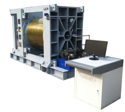大型电机、水泵壳体水压试验机