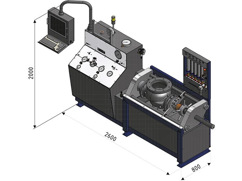 阀门水压试验机
